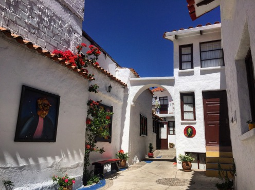 Backpacking and traveling in Bolivia at sucre