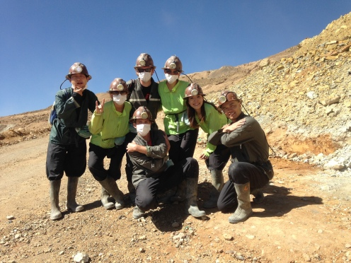 Backpacking and traveling in Bolivia at Potosi mines