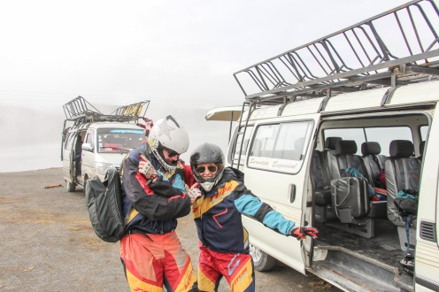 Backpacking and traveling in Bolivia on the Death Road