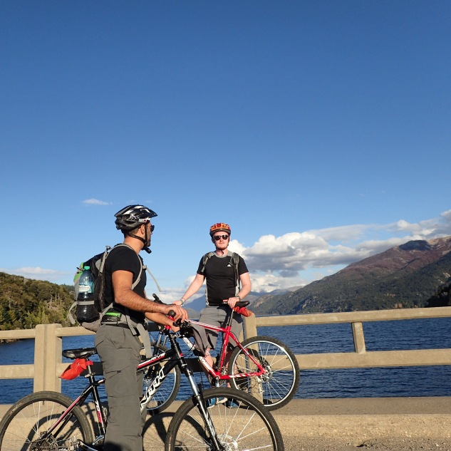 Mountain biking around Bariloche